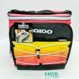 Igloo Cooler Bag Removable Hard Liner 12 Pack Cans